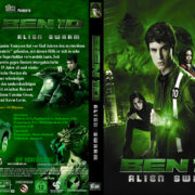 Ben 10 Alien Swarm (2009) R2 Custom German Cover & label