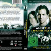 Andromeda Tödlicher Staub aus dem All (2008) R2 German Cover & label