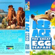 Ice Age: The Great Egg-Scapade (2016) R1 CUSTOM DVD Cover