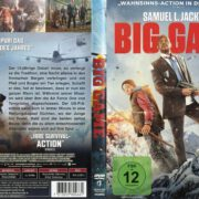 Big Game (2015) R2 German Cover & label