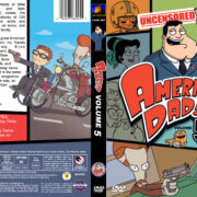 American Dad – Volume 5 (2010) R1 Custom Cover & labels