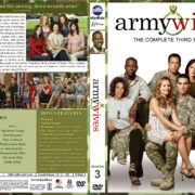 Army Wives – Season 3 (2009) R1 Custom Cover & labels
