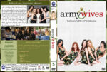 Army Wives – Season 5 (2011) R1 Custom Cover & labels