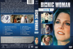 The Bionic Woman – Season 1 (1976) R1 Custom Cover & labels