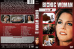 The Bionic Woman – Season 2 (1977) R1 Custom Cover & labels