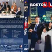 Boston Legal – Season 2 (2006) R1 Custom Cover & labels