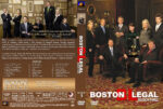 Boston Legal – Season 3 (2007) R1 Custom Cover & labels