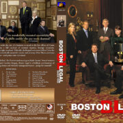 Boston Legal – Season 3 (2007) R1 Custom Cover & labels