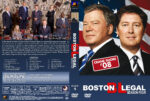 Boston Legal – Season 4 (2008) R1 Custom Cover