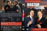Boston Legal – Season 5 (2008) R1 Custom Cover & labels