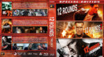 12 Rounds Triple Feature R1 Blu-Ray Custom Cover