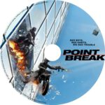Point Break (2015) R0 CUSTOM DVD Label