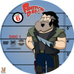 American Dad – Volume 6 (2011) R1 Custom DVD Labels