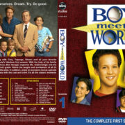 Boy Meets World – Season 1 (1994) R1 Custom Cover