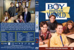 Boy Meets World – Season 2 (1995) R1 Custom Cover