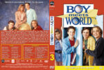 Boy Meets World – Season 3 (1996) R1 Custom Cover