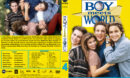 Boy Meets World - Season 4 (1997) R1 Custom Cover & labels