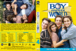 Boy Meets World – Season 4 (1997) R1 Custom Cover & labels
