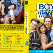 Boy Meets World – Season 4 (1997) R1 Custom Cover & labels