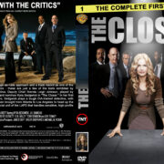 The Closer – Season 1 (part of a spanning spine set) (2005) R1 Custom Cover & labels