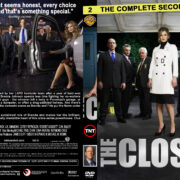 The Closer – Season 2 (part of a spanning spine set) (2006) R1 Custom Cover & labels