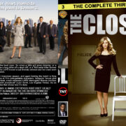 The Closer – Season 3 (part of a spanning spine set) (2007) R1 Custom Cover & labels