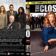 The Closer – Season 4 (part of a spanning spine set) (2009) R1 Custom Cover & labels