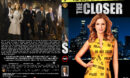 The Closer - Season 5 (part of a spanning spine set) (2009) R1 Custom Cover & labels