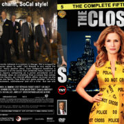 The Closer – Season 5 (part of a spanning spine set) (2009) R1 Custom Cover & labels