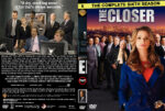 The Closer – Season 6 (part of a spanning spine set) (2011) R1 Custom Cover & labels