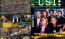 CSI: Crime Scene Investigation - Season 1 (2001) R1 Custom Cover