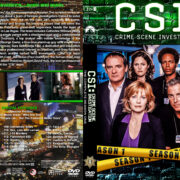 CSI: Crime Scene Investigation – Season 1 (2001) R1 Custom Cover