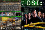 CSI: Crime Scene Investigation – Season 2 (2002) R1 Custom Cover