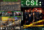 CSI: Crime Scene Investigation – Season 3 (2003) R1 Custom Cover