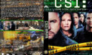 CSI: Crime Scene Investigation - Season 4 (2004) R1 Custom Cover