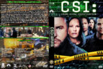 CSI: Crime Scene Investigation – Season 4 (2004) R1 Custom Cover