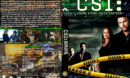 CSI: Crime Scene Investigation - Season 5 (2005) R1 Custom Cover