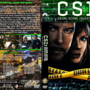 CSI: Crime Scene Investigation – Season 6 (2006) R1 Custom Cover