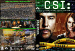 CSI: Crime Scene Investigation – Season 7 (2007) R1 Custom Cover & labels