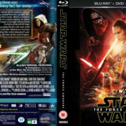 Star Wars The Force Awakens (2015) R1 Blu-Ray Custom Cover