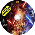 Star Wars: Das Erwachen der Macht (2015) German Blu-ray Label