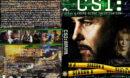 CSI: Crime Scene Investigation - Season 8 (2008) R1 Custom Cover & labels