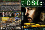 CSI: Crime Scene Investigation – Season 8 (2008) R1 Custom Cover & labels