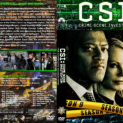 CSI: Crime Scene Investigation – Season 9 (2009) R1 Custom Cover & labels