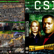 CSI: Crime Scene Investigation – Season 10 (2010) R1 Custom Cover & labels