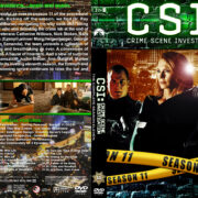 CSI: Crime Scene Investigation – Season 11 (2011) R1 Custom Cover & labels