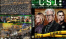 CSI: Crime Scene Investigation - Season 13 (2013) R1 Custom Cover & labels
