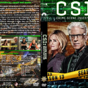 CSI: Crime Scene Investigation – Season 13 (2013) R1 Custom Cover & labels