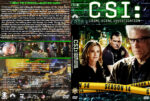 CSI: Crime Scene Investigation – Season 14 (2014) R1 Custom Cover & labels