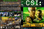 CSI: Crime Scene Investigation – Season 15 (2015) R1 Custom Cover & labels